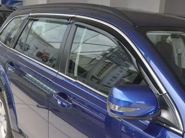 Ветровики с хром молдингом MERCEDES GLE Coupe C292 - Hic 2