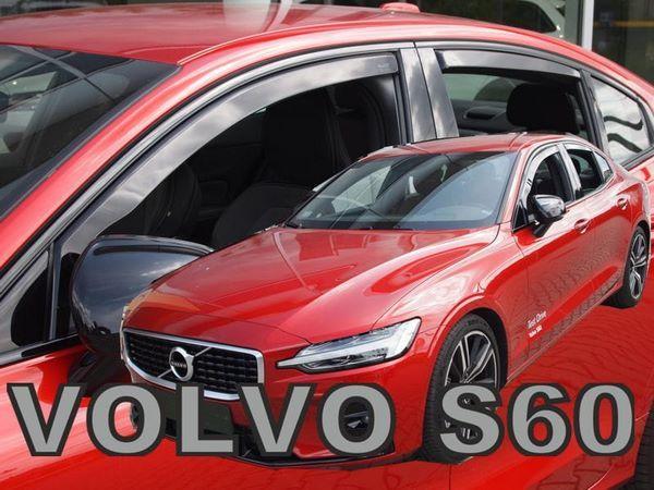 Дефлекторы окон Volvo S60 III (2019+) - Heko 2