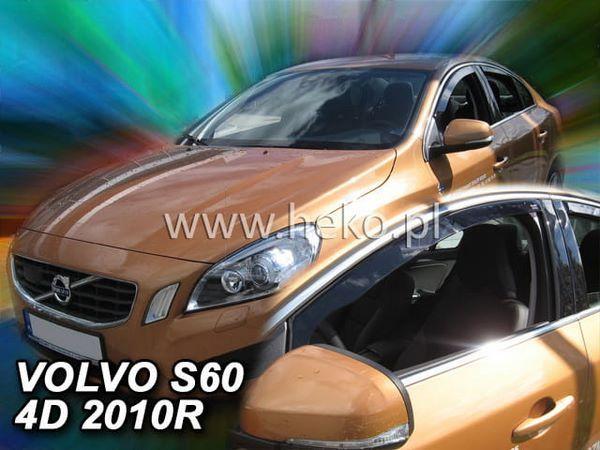 Дефлекторы окон Volvo S60 II (2010-2018) - Heko 2