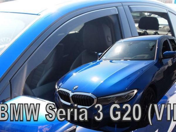 Дефлекторы окон BMW 3 G20 (2018+) Sedan - Heko 2