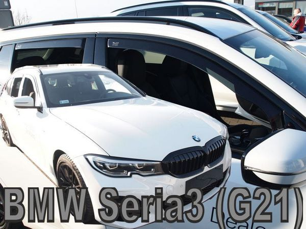 Дефлекторы окон BMW 3 Series G21 Touring - Heko 3
