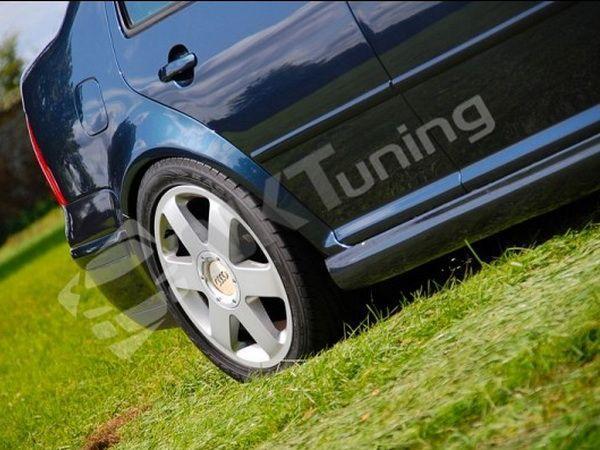 "Накладки на пороги VW Bora A4 (98-05) ""NK"""