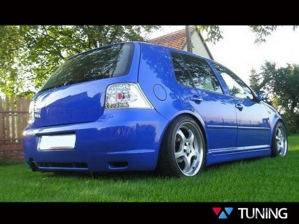 "Накладки на пороги VW Golf IV 5D HB ""R32"""
