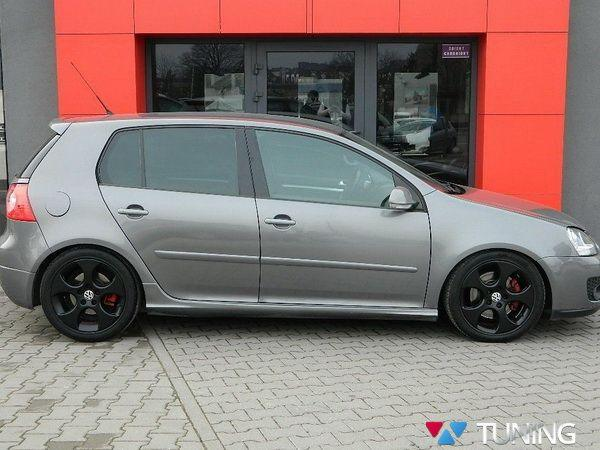 "Накладки на пороги VW Golf V ""GTI LOOK"" GRP"