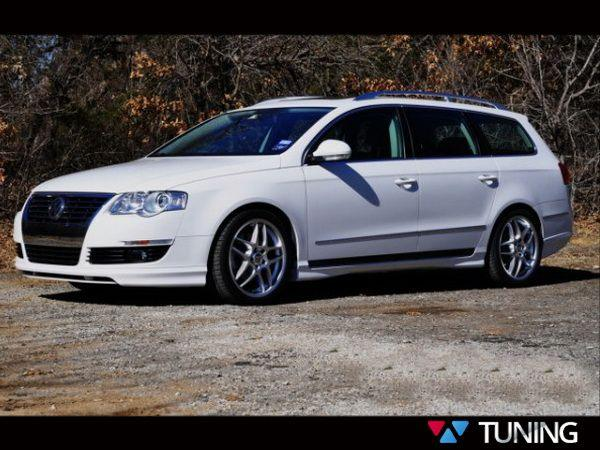 "Накладки на пороги VW Passat B6 (05-10) ""VOTEX"""