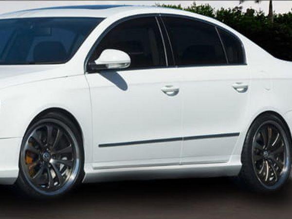 """Пороги боковые VW Passat B6 3C (2005-2010) """"R-GT"""""""