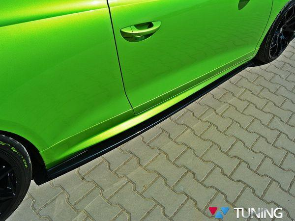 Диффузоры под пороги VW Scirocco R (2008-2014)
