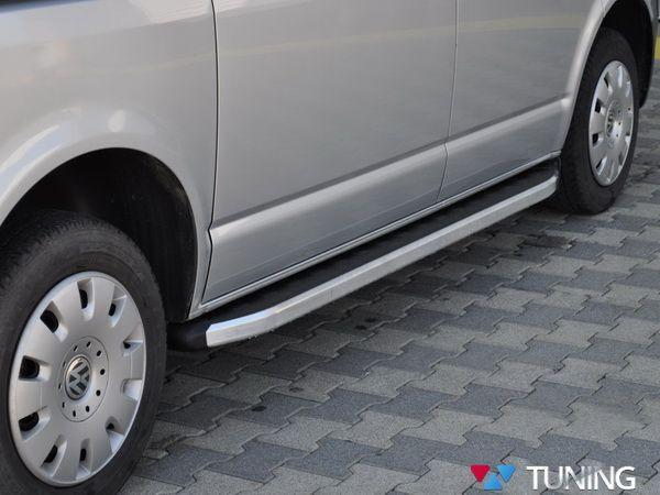 "Пороги боковые VW T5/T5+ (2003-2015) ""DOLUNAY"""