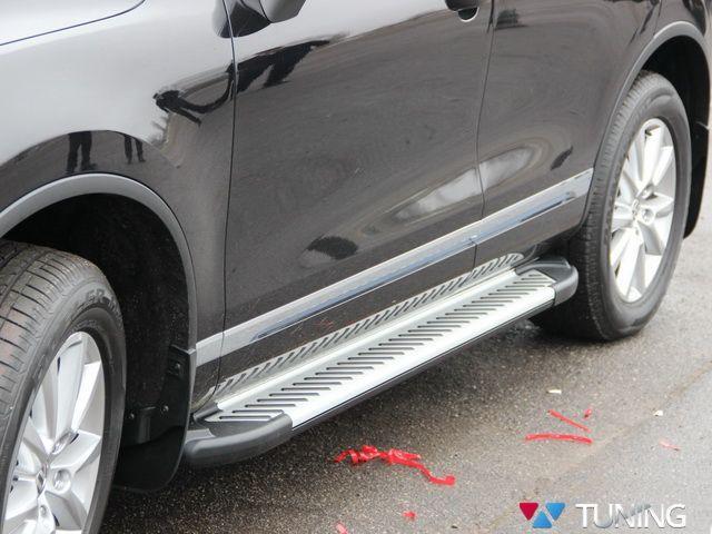 Пороги боковые VW Touareg II (2011-) Line