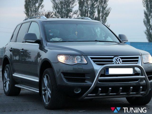 Пороги боковые VW Touareg I (2002-2010) PREMIUM