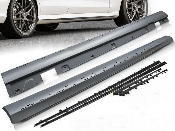 MERCEDES E W213 пороги боковые AMG E63 стиль 1