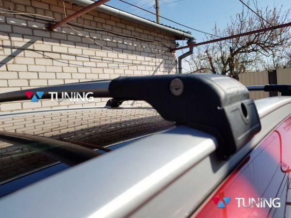 Поперечины на рейлинги интегрированные HYUNDAI Tucson III TL (2016-) - серые - фото #6