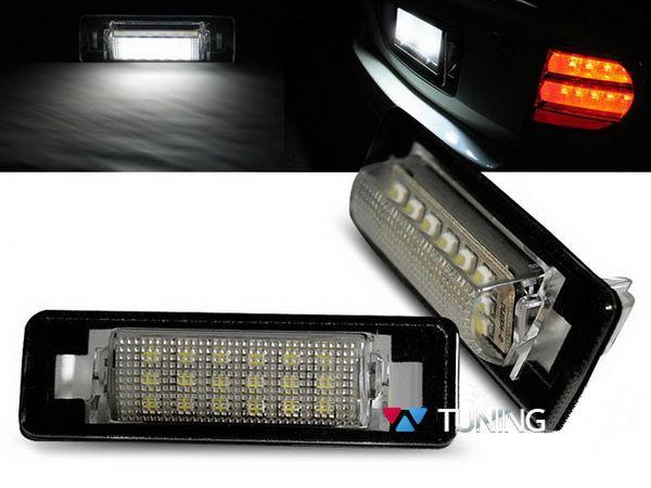 Подсветка номера LED MERCEDES W210, W202 Sedan 1