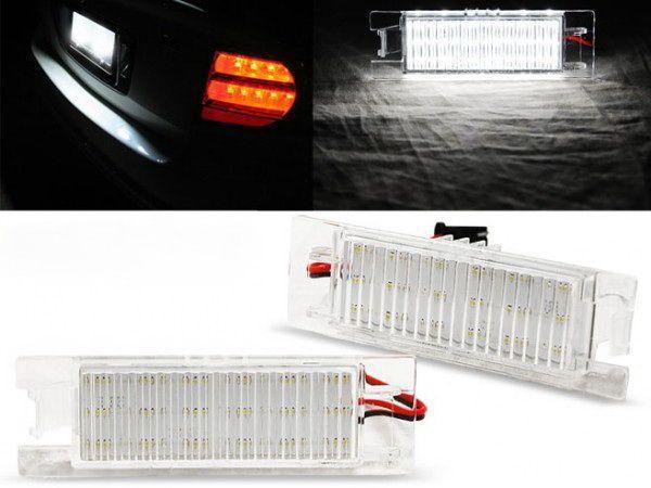 Подсветка заднего номера LED OPEL Corsa D (06-11)