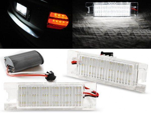 Подсветка номера OPEL Zafira B (05-14) LED CANBUS