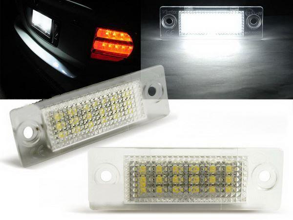 Подсветка заднего номера VW Touran I (03-10) LED CANBUS