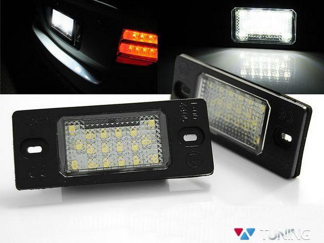 Подсветка номера VW Tiguan I (07-11) LED