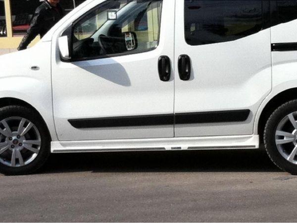 """Накладки на пороги боковые FIAT Fiorino (2008-) """"Spirit"""""""