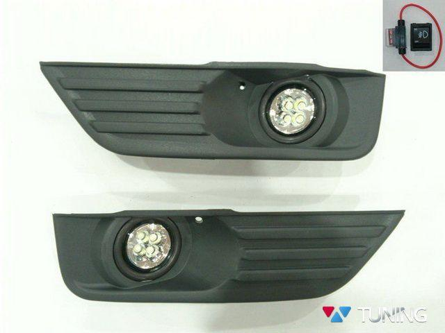 Противоутманки FORD Focus II (04-08) LED диодные