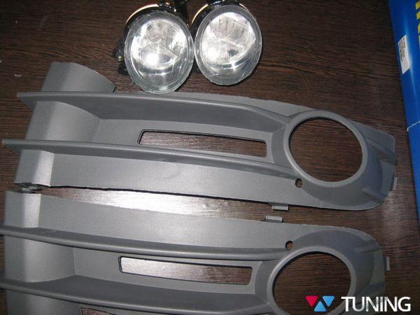 Противотуманки VW Caddy III (04-10) галогенные