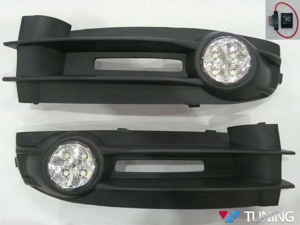 Противотуманки VW Caddy III (04-10) LED-диодные