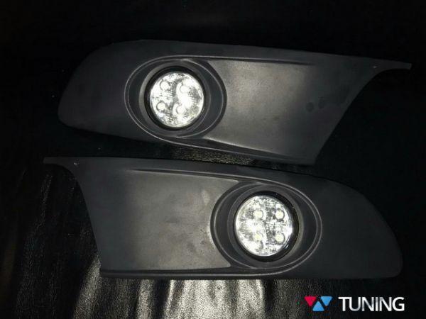 Противотуманки VW Caddy III (10-15) LED рестайлинг