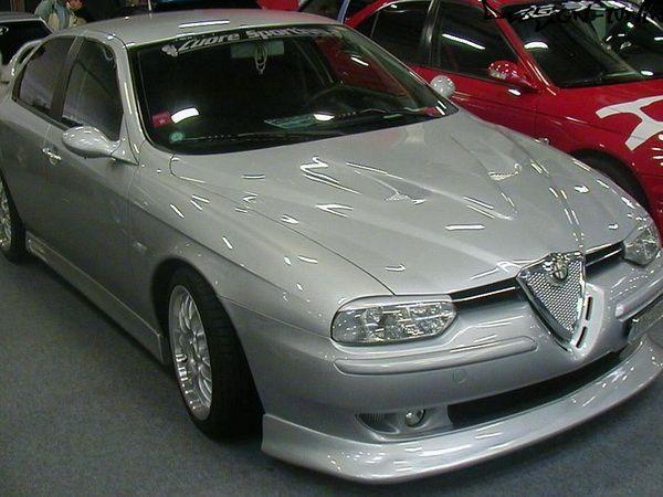 Реснички на фары ALFA ROMEO 156 ABS