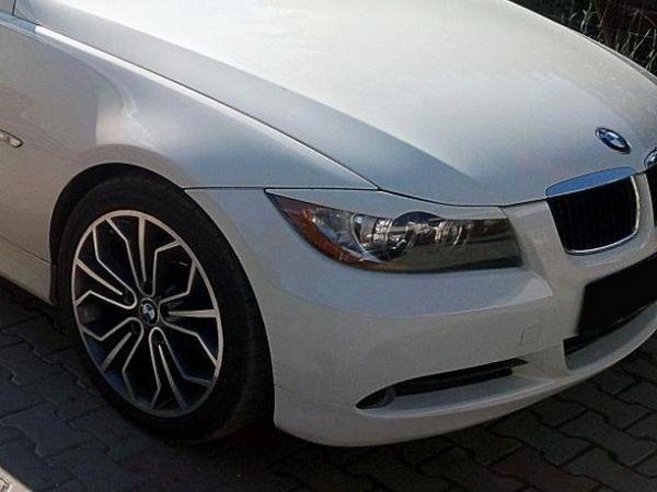 Реснички на фары BMW E90 / E91 (2005-)