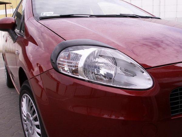 Реснички на фары FIAT Grande Punto (2005-2009)