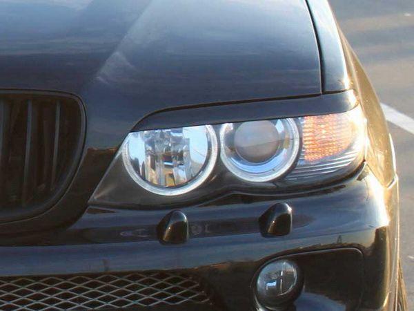 Реснички на фары BMW E53 (2000-2003)