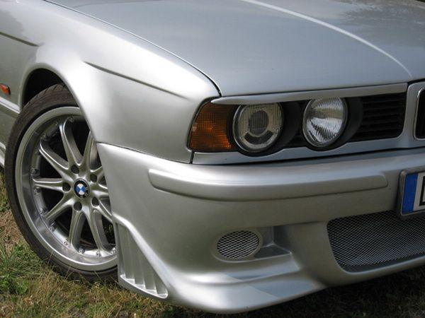Реснички на фары BMW E34 (1988-1995) прямые
