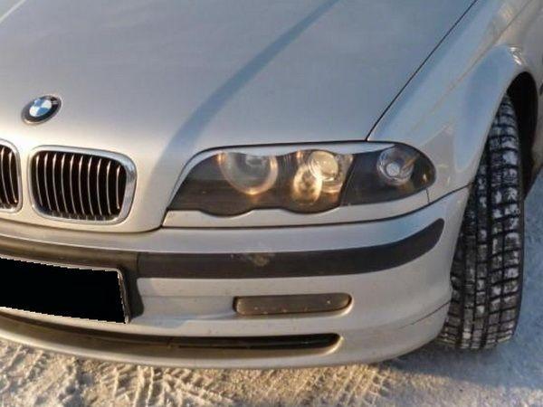 Реснички BMW E46 (1998-2003) углом