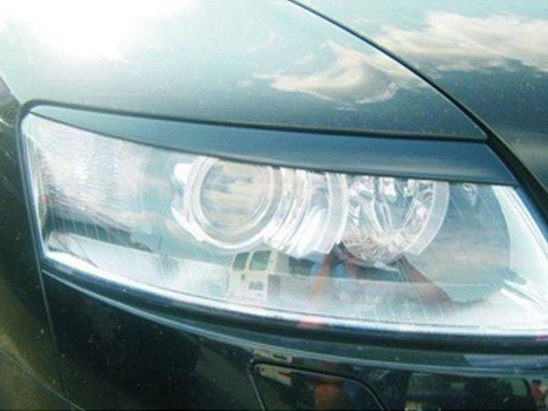 Реснички на фары AUDI A6 C6 (2004-)