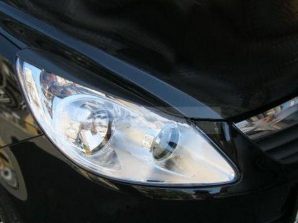 Накладки на фары OPEL Corsa D (06-14)