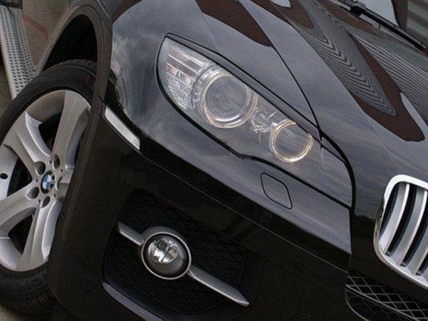 Реснички на фары BMW X6 E71 / E72 (2008-)
