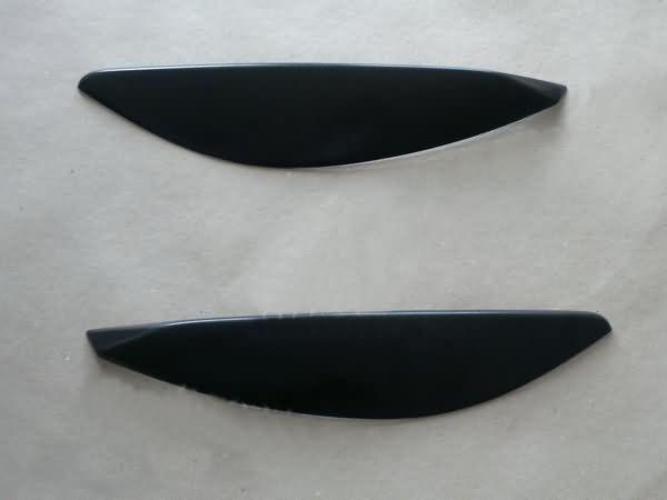 Реснички на фары OPEL Astra H (2004-)