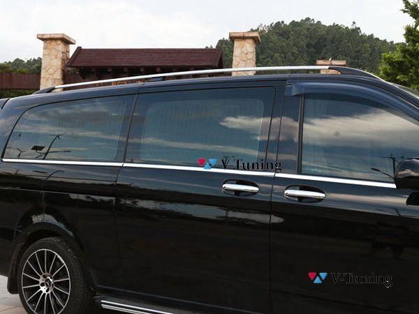 Рейлинги MERCEDES Vito / V-Class W447 (2014-) - хром 7