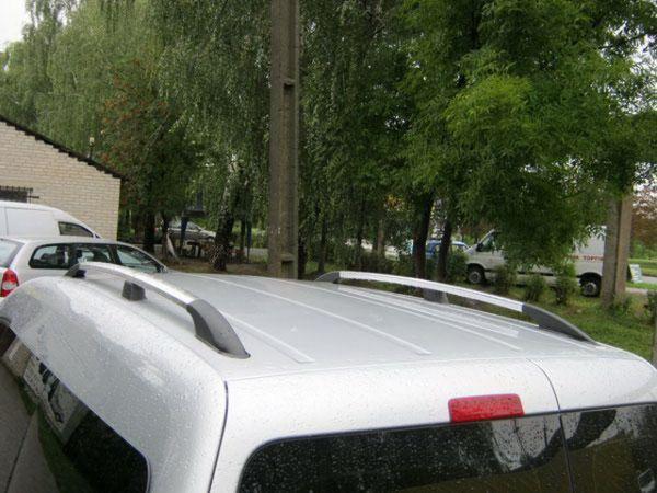 Рейлинги VW Caddy III (2004-) хром