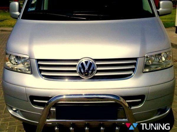 Реснички VW T5 (2003-2009) под покраску