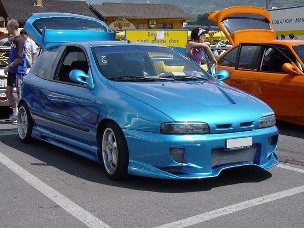 Реснички на фары FIAT Bravo I (1995-2001)