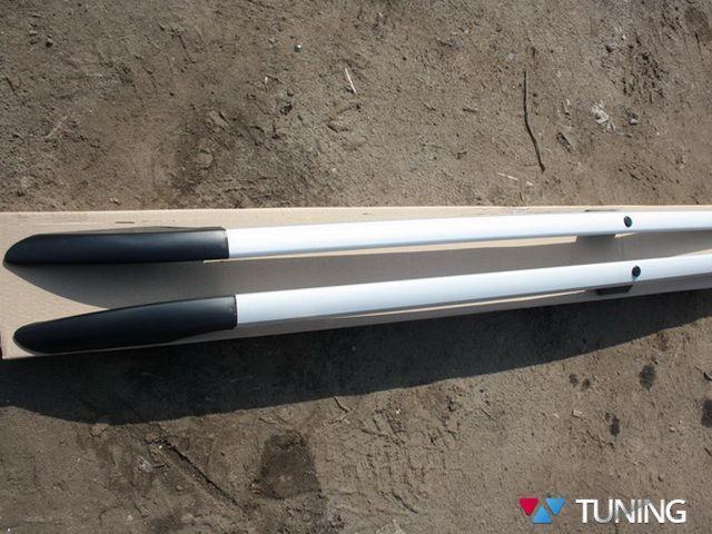 Рейлинги FIAT Fiorino (2008-) серый металлик