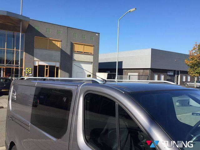 Рейлинги FIAT Scudo III (2016-) SKYPORT серые