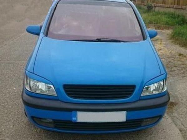 Реснички на фары OPEL Zafira A (1999-2005) ABS