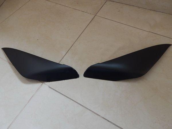 Реснички на фары TOYOTA LC 120 Prado III - ABS пластик 5