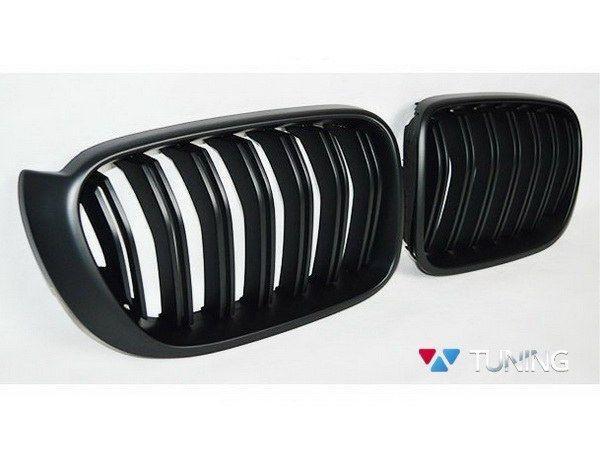 Решётка радиатора BMW X3 F25 / X4 F26 (14-16) M-стиль матовая