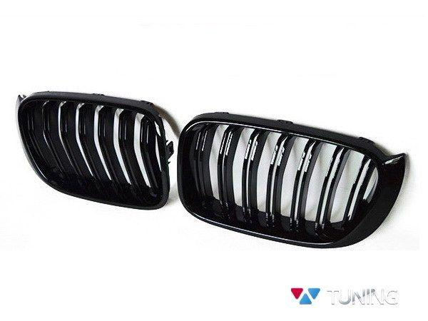 Ноздри BMW X3 F25 / X4 F26 (14-16) M стиль глянцевые - фото #2