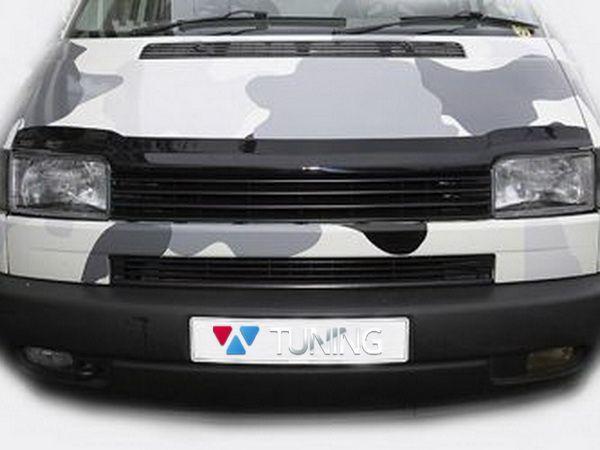 Решётка радиатора VW T4 Transporter (90-03) чёрная без логотипа