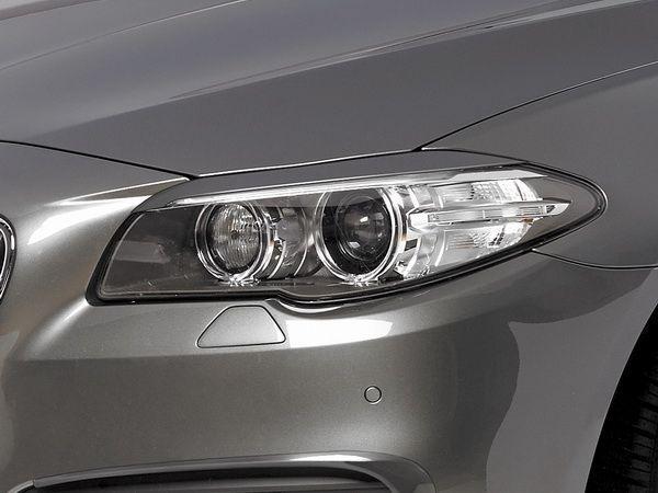 Реснички на фары BMW 5 F10 / F11 (2013-) рестайлинг