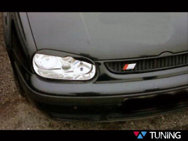 Реснички VW Golf IV (1997-2003) вырез ABS
