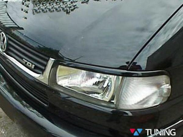 Реснички VW T4 Caravelle / Multivan (96-03) ABS-пластик